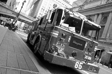 Un camion de pompiers à New York sur Marcel Kerdijk