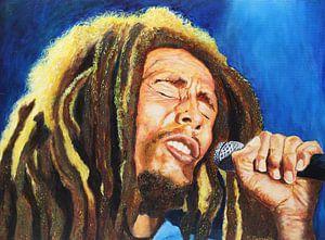 Bob Marley im Konzert