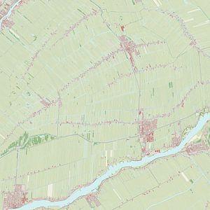 Kaart vanBergambacht van