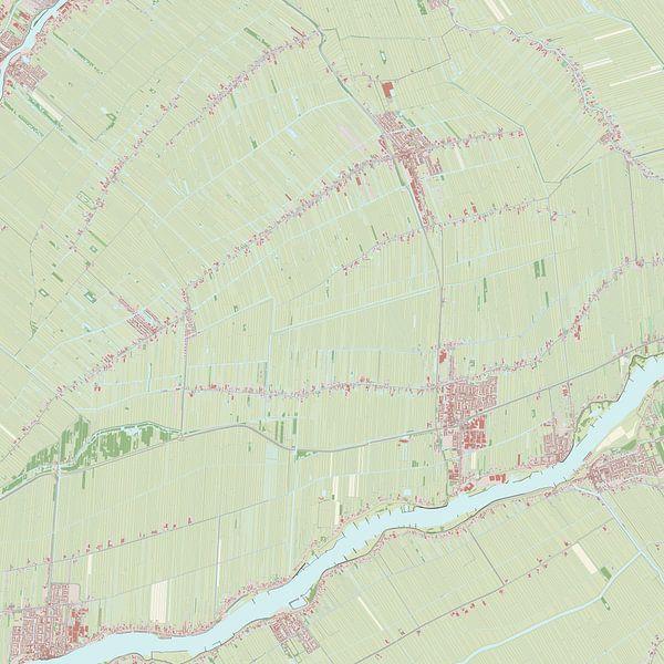 Kaart vanBergambacht