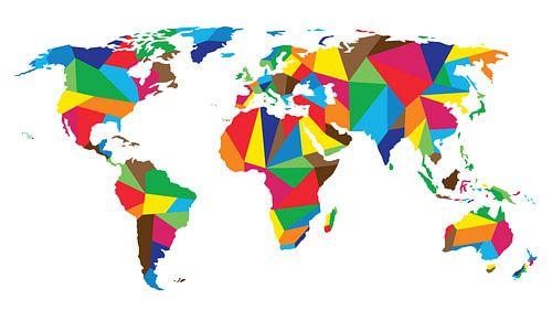 United Colors Worldmap van
