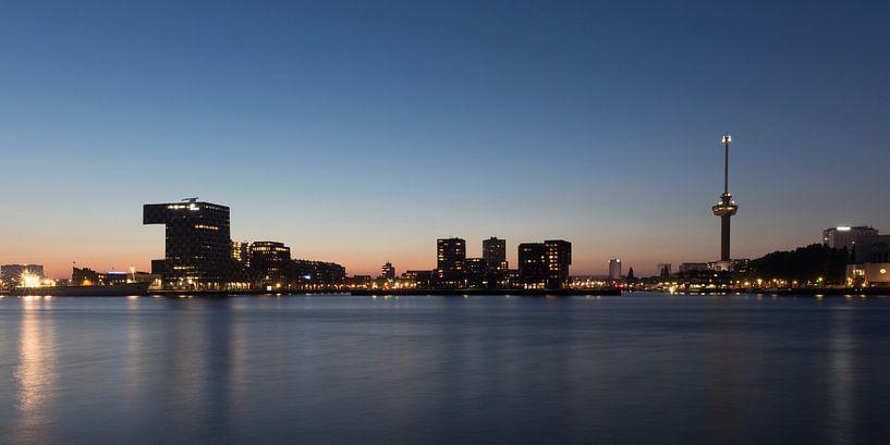 Skyline Rotterdam Euromast sur Marcel Krol