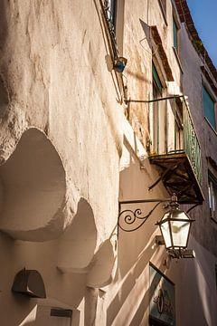 Häuser in der Altstadt von Forio, Ischia, Italien von Christian Müringer
