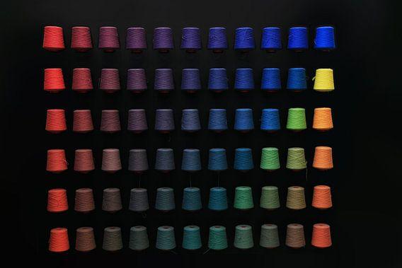 garen op kleur gesorteerd van Peter v Mierlo