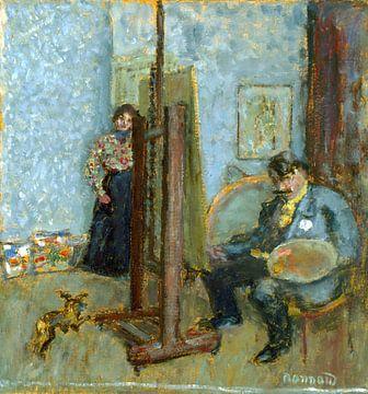 Studio van de schilder, Pierre Bonnard, 1905 van Atelier Liesjes