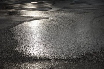 bevroren reflecties van Hessel Hendriks