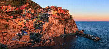 Manarola, Cinque Terre, Italy van Henk Meijer Photography