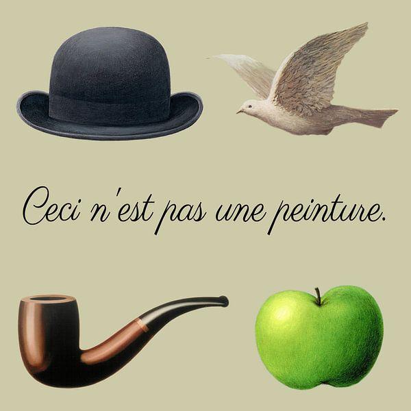 De spullen van Magritte