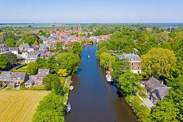 Luchtfoto van Loenen aan de Vecht van Nisangha Masselink