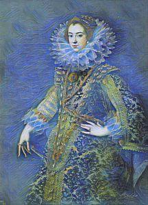 Sternennacht mit Königin Elisabeth von Bourbon
