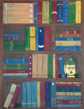 BOOKCASE van Aat Kuijpers