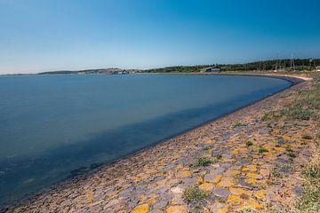 Die Vlieland-Bucht vor dem Havenweg von Vlielandplaatjes