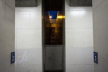 Antwerpen-Luchtbal - Graffiti van Maurice Weststrate