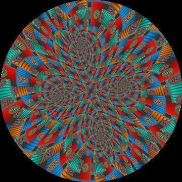 Vierdubbele Spiraal van Trappen en Cirkels van Tis Veugen