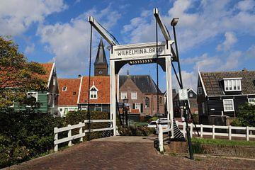 Ophaalbrug in Marken van Jan Kranendonk