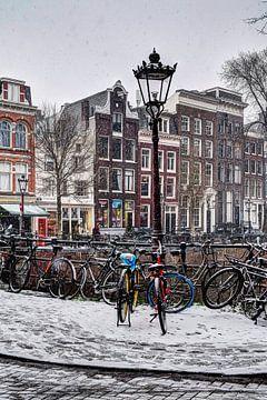 Hiver Amsterdam Spiegelbuurt sur Hendrik-Jan Kornelis