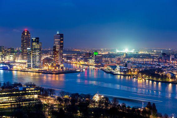 Skyline Rotterdam - de Kuip