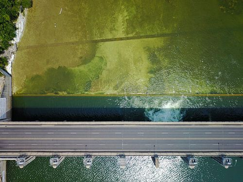 The Longhorn Dam van