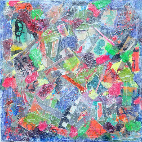 """Collage """"Dive into life"""" von Ina Wuite"""
