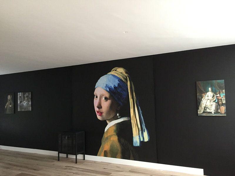 Kundenfoto: Marquise de Pompadour, Maurice-Quentin de la Tour von Meesterlijcke Meesters
