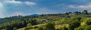 Chianti heuvels in Toscane