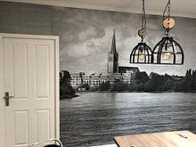 Kundenfoto: Waterfront Doesburg, 3D canvasprint von M  van den Hoven, auf fototapete