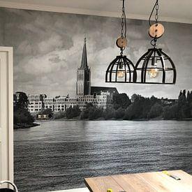 Kundenfoto: Waterfront Doesburg, 3D canvasprint von M  van den Hoven