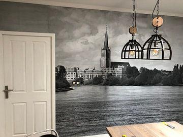 Klantfoto: Waterfront Doesburg, 3D canvasprint van M  van den Hoven