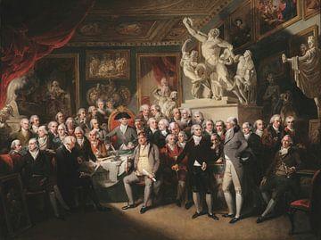 Die Königlichen Akademiker in der Generalversammlung, Henry Singleton