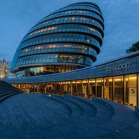 Londen City Hall van Bert Beckers