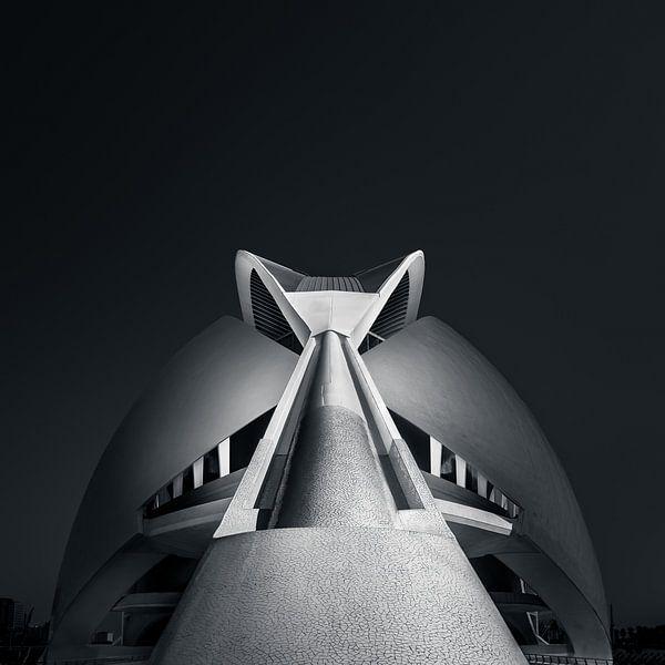 Moderne architectuur Valencia van Martijn Kort
