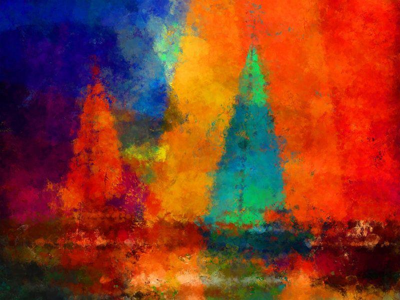 abstract sailing von Andreas Wemmje