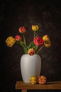 Tulpen auf Vase von Peter Abbes