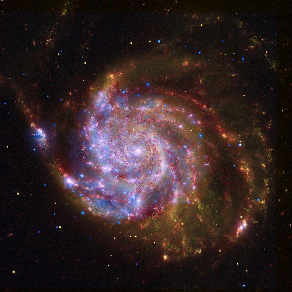 Hubble foto van een sterrenstelsel van Brian Morgan