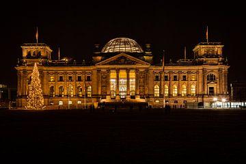 Berliner Reichstag van Horst Bauer