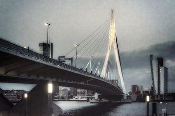 Erasmusbrug, Rotterdam van Arno Litjens