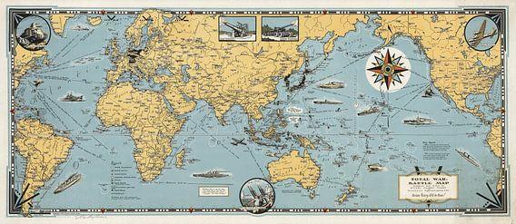 Oorlogskaart van de Wereld