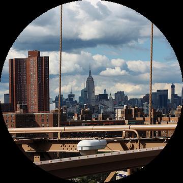new york city ... manhattan view VII van Meleah Fotografie