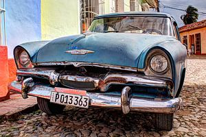 Oldtimer, Cuba van Frans Bouvy