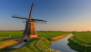 Poldermühle Goliath, Eemshaven, Groningen, Niederlande von Henk Meijer Photography
