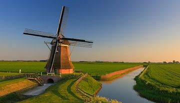 Poldermühle Goliath, Eemshaven, Groningen, Niederlande