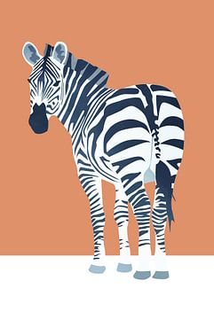 Kijk, Zebra von Goed Blauw