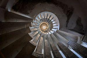 Urban exploration Een wervel aan trappen van Aurelie Vandermeren