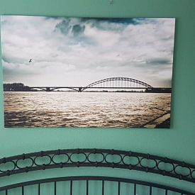 Photo de nos clients: Donkere wolken boven Nijmegen sur Bas Stijntjes