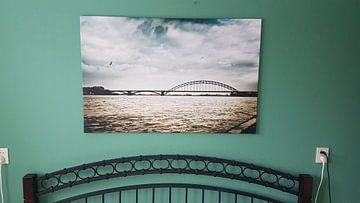 Kundenfoto: Donkere wolken boven Nijmegen von Bas Stijntjes