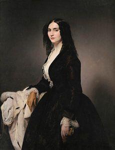 Porträt der Sängerin Matilde Juva Branca, Francesco Hayez