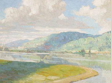 Emil Jacques (Amerikaner, 1874-1937)~Treibende Wolken