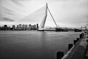 Erasmusbrug | Zwart-Wit Foto