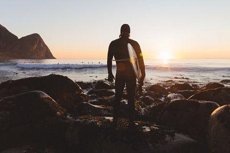 SURFER IN NOORWEGEN