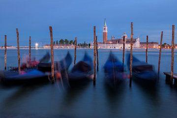 Dobberen in Venetië van Pieter Poot